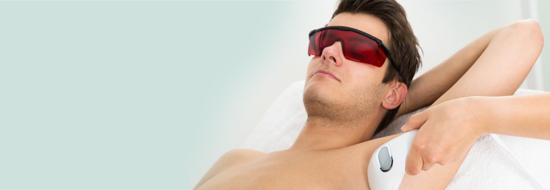 Epilation laser homme